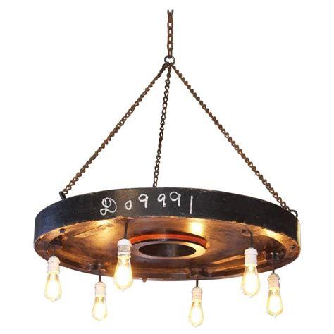 vintage industrial rustic chandelier hanging pendant