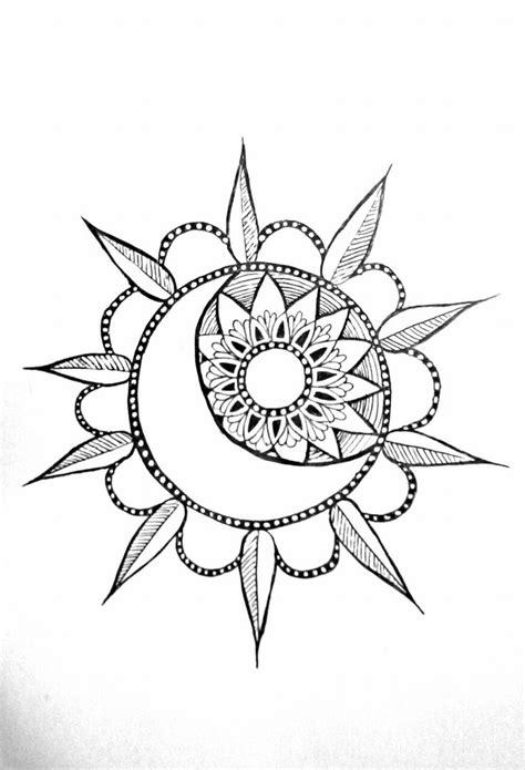 Pin by Daryn Walters on Body art | Sun tattoo small, Mandala tattoo, Moon mandala