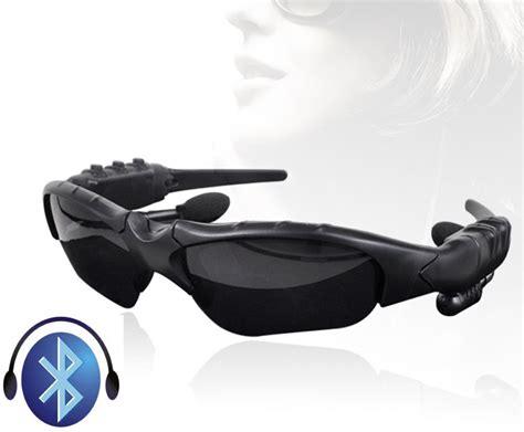 headset earphone mercury stereo sport handfree wireless bluetooth sunglasses with headset