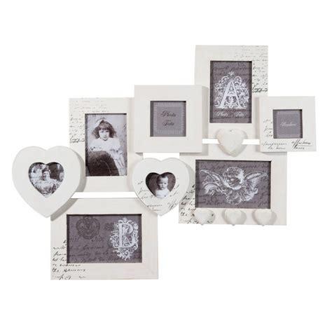 cadre multivues blanc emilie lyon femmes  cadre photo maison du monde  cadre multivues blanc