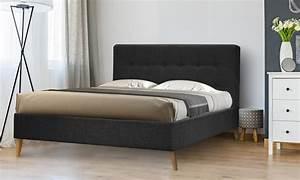 Lit Scandinave 160x200 : lit scandinave avec sans matelas groupon ~ Teatrodelosmanantiales.com Idées de Décoration