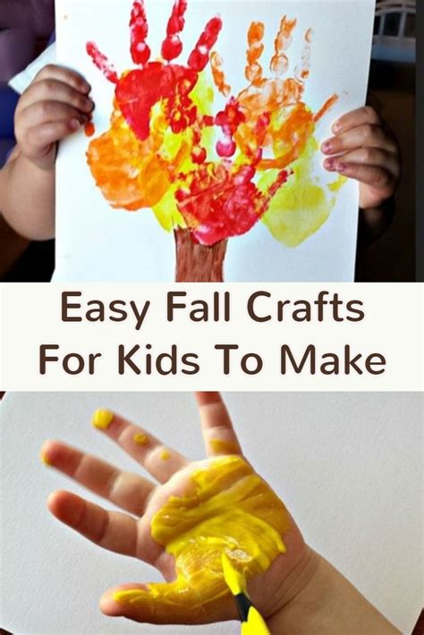fun fall crafts for preschoolers thanksgiving crafts for preschool and pre k to make 865