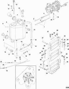 Mercury Mariner Racing 250xs  3 0l Dfi  Oiling System Parts