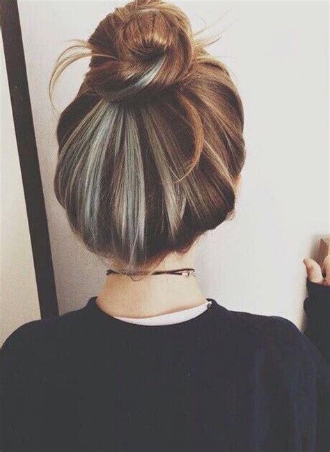 Silver Grey Brown Black Hair Hair Colors Multiple Hair