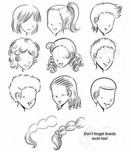 How To Draw Manga How To Draw Manga Hair