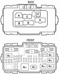 2004 Honda Element Fuse Diagram