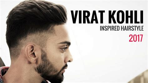 hairstyle  virat kohli fade haircut