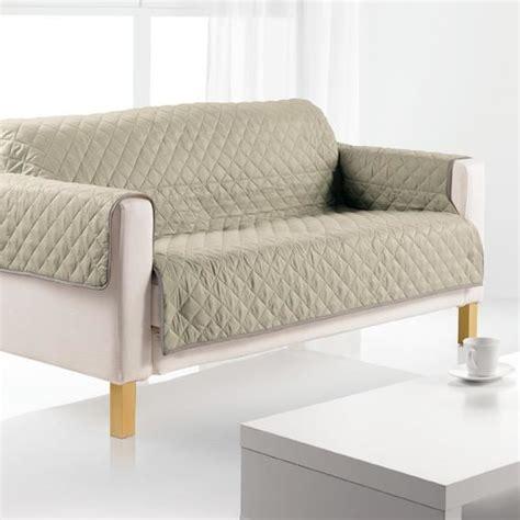 protege canapé protège canapé 3 places argile achat vente housse de