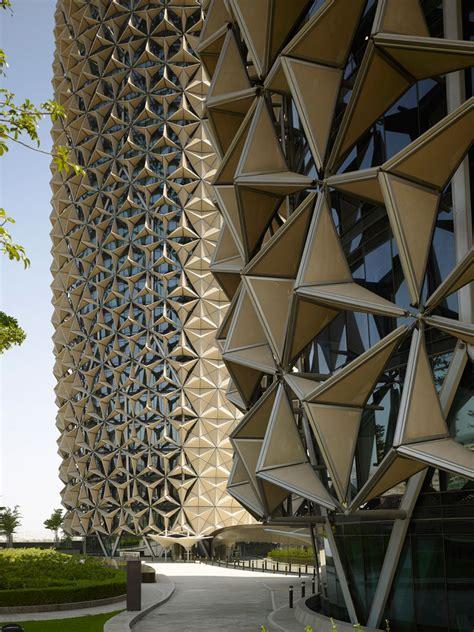 aedas clads al bahr towers  dynamic shading device