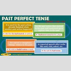 Past Perfect Tense  English Study Page