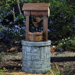 Water Fountain Wishing Well