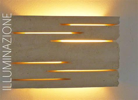 Applique Pietra illuminazione giorgio angele