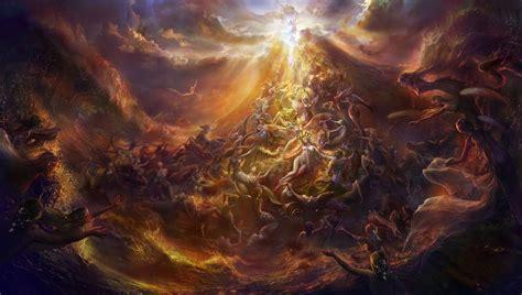wallpaper sunlight fantasy art angel artwork earth
