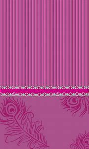 #pink #feathers #bling #madebyniki | Flower backgrounds ...