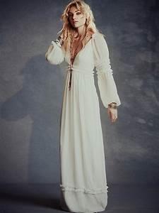 Robe Style Boheme : robe longue hippie les 60 belles robes boheme boho chic ~ Dallasstarsshop.com Idées de Décoration