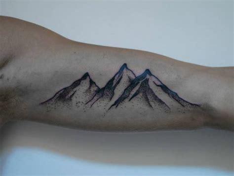 Tatouage Bras Montagne Tattoo Art
