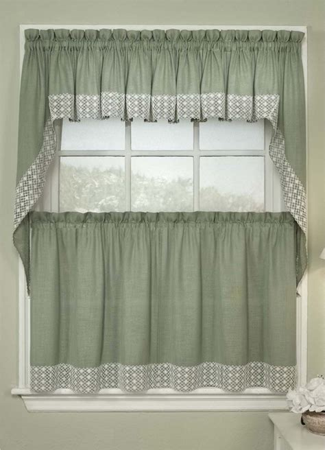 perfect farmhouse country kitchen curtain valances