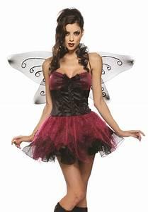 New Sexy Womens Dark Fairy Pixie Halloween Costume | eBay