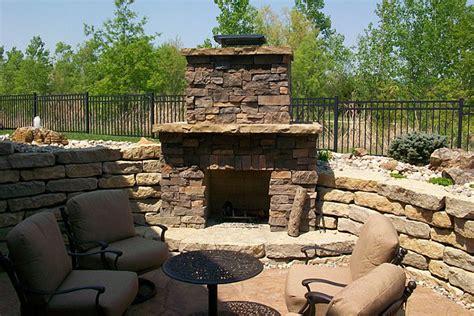 outdoor fireplaces fire pits kansas city kansas ks
