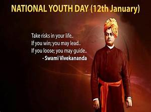 Swami Vivekanan... Youth Day Special Quotes