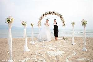 simple and small romantic beach wedding ideas in phuket With small simple wedding ideas