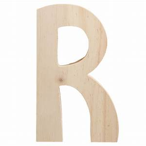 775quot chunky wooden letter r 9190 692r craftoutletcom With chunky wooden letters