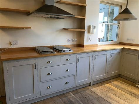 solid wood shaker style kitchen units  sale