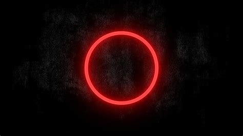 Minimalistic dark circles glow wallpaper   (4534)