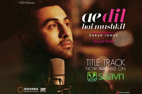 Arijit Puts Poetry In Motion With 'ae Dil Hai Mushkil