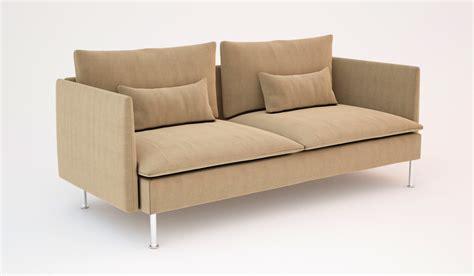 ikea soderhamn sofa bed ikea soderhamn sofas 3d models cgtrader