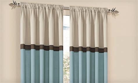 Family Dollar Curtain Rods by Groupon Cosmopolitan Curtain Sets Just 13 99 Reg 79