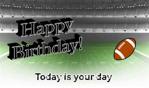 football theme birthday wishes  specials ecards greeting cards
