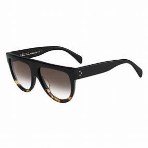 Lunette De Soleil Femme Solde : celine 41026 fu55i 58 16 shadow noir achat vente lunettes de soleil mixte les soldes sur ~ Farleysfitness.com Idées de Décoration