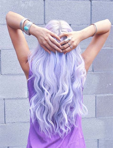 Best Temporary Lilac Nicole Richie Hair Dye Set Lilac