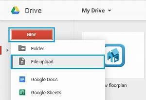 How to upload files and folders to google drive for Upload a file in google drive