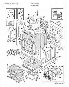 Electrolux E30ew85ppsd Electric Wall Oven Parts