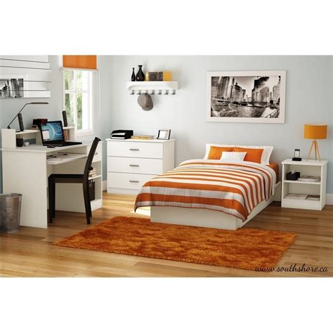 south shore libra kids 3 drawer chest in pure white 3050033