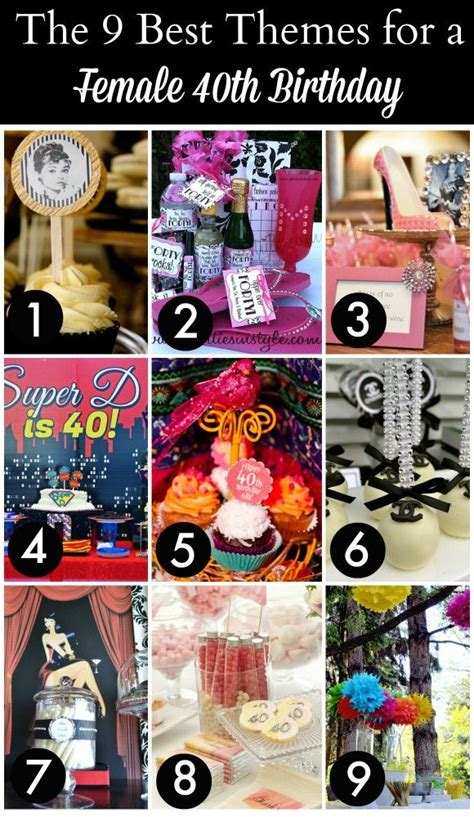 40th Birthday Decorations Ideas by Best 25 40th Birthday Themes Ideas On