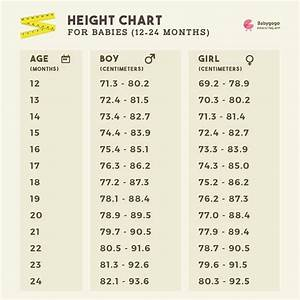 10 Year Old Boy Height And Weight Chart Ideal Height For 14 5month Old Girl Baby