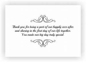wedding ideas no thank you note for weddingft notesfts With thank you for wedding gift