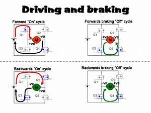 Dc Motor Braking Circuit Diagram