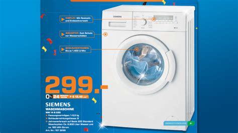 Saturn Waschmaschine Siemens