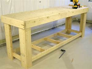 Wooden Work Bench Plans Home Design Ideas