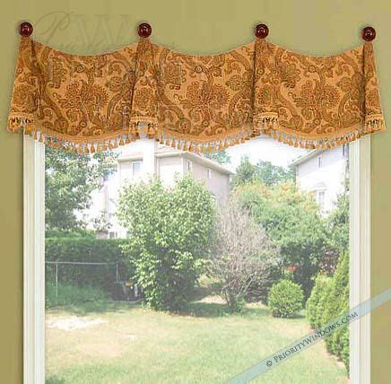 Swag Valances Window Treatments by Medallion Swag Valance Window Treatments Ideas Diy