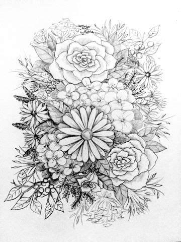 Retta's Free SVG's: Free Art Work | Flower coloring pages, Fall coloring pages, Flower art drawing