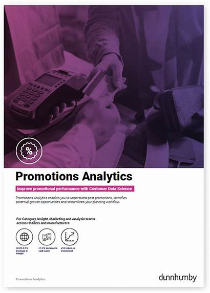 Promotions Brochure Analytics Dunnhumby