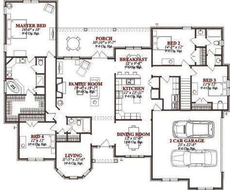 lovely  bedroom floor plans   house  home plans