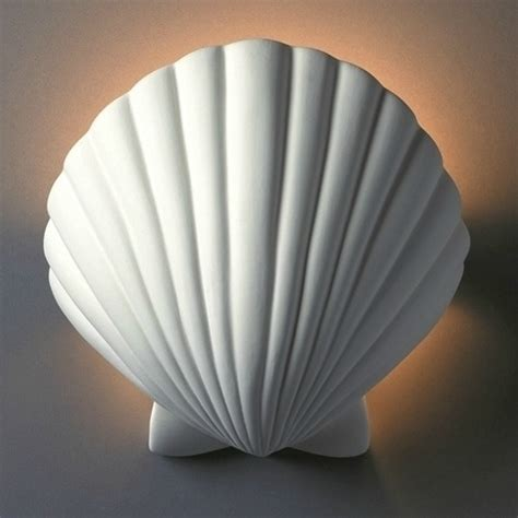 shell wall sconce lights coastal decor ideas interior