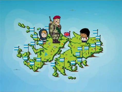 Islas Malvinas 01: Ex combatientes cruzaron al Gobierno