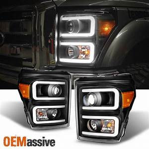 Fit 2011 2016 Ford F250 F350 F450 F550 SuperDuty Black LED